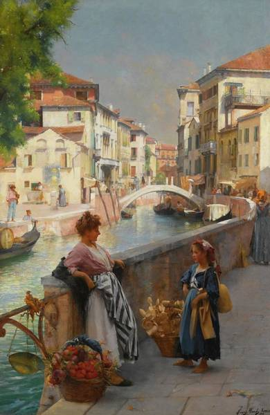Wall Art - Painting - Venice by Henry Woods