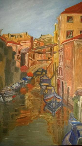Wall Art - Painting - Venice I. by Agnes V