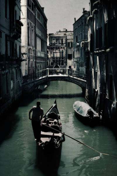 Gondola Photograph - Venice II by Cambion Art