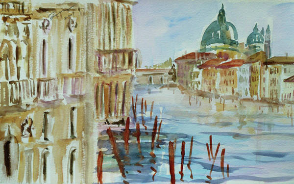 Painting - Venice Impression IIi by Xueling Zou