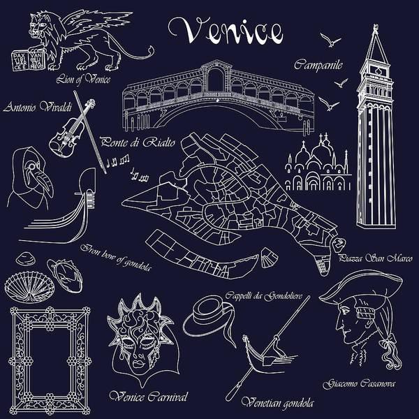Digital Art - Venice In Miniature by Marina Usmanskaya
