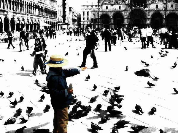 Apostolic Palace Wall Art - Mixed Media - Venice Italy 1d by Brian Reaves