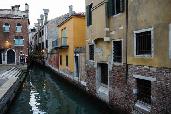 Photograph - Venice Italy - Charming Bridges And Fabulous Distinctive Chimneys by Georgia Mizuleva