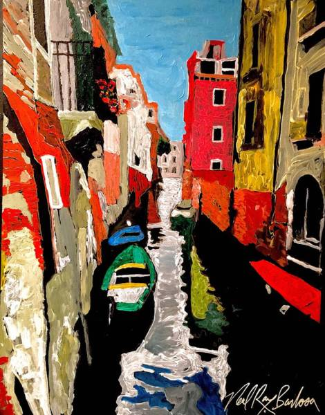 Painting - Venice Italy  by Neal Barbosa