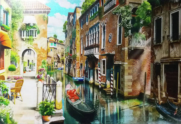 Wall Art - Digital Art - Venice by Mark Ashkenazi