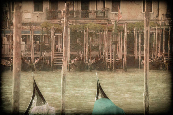 Photograph - Venice, Italy - Prows by Mark Forte