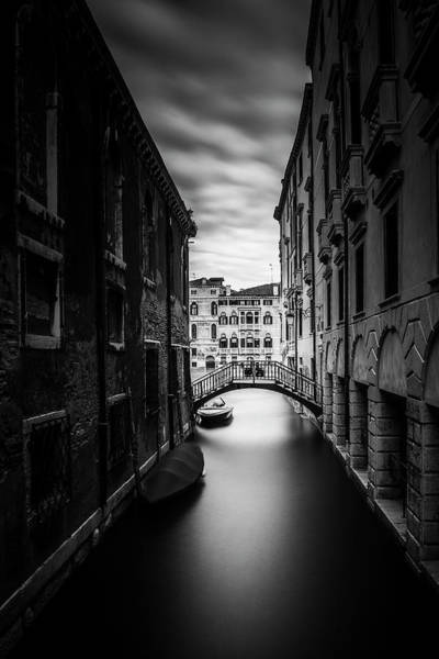Wall Art - Photograph - Venice Residential Canal by Andrew Soundarajan