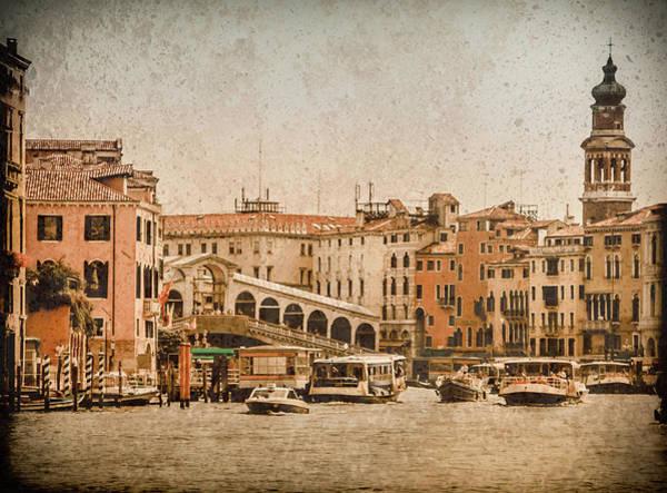 Photograph - Venice, Italy - Rialto - San Silvestro by Mark Forte