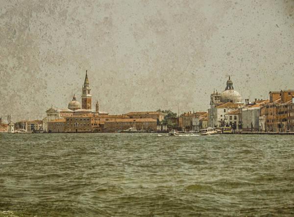 Photograph - Venice, Italy - S. Giorgio And Sa. Maria Delle Zitelle by Mark Forte