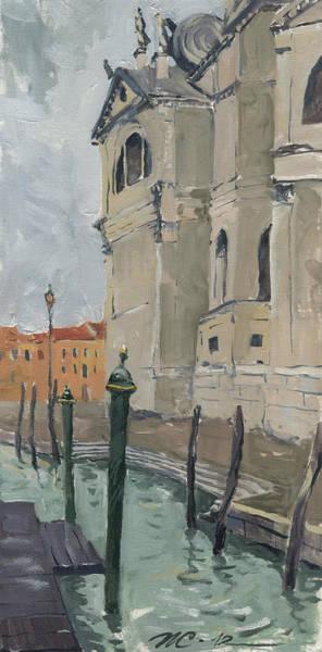 Painting - Venice. Santa Maria Della Salute by Igor Sakurov
