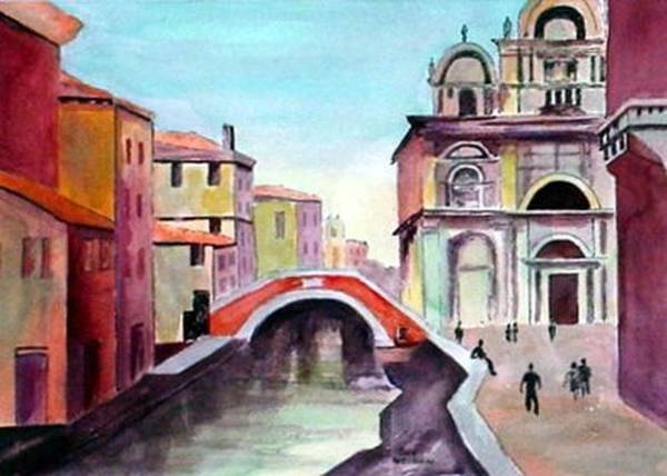 Painting - Venice by Sue Nelson