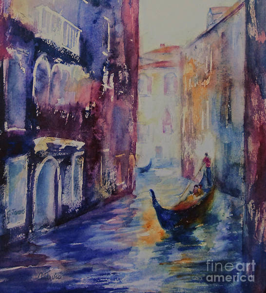 Painting - Venice Vacation by Carolyn Jarvis