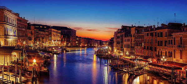 Wall Art - Photograph - Venice View At Twilight by Andrew Soundarajan