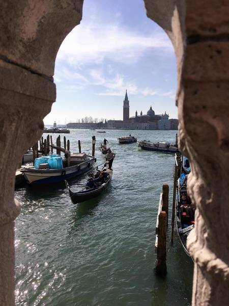 Photograph - Venice View From The Side Of Doges Palace by Marina Usmanskaya