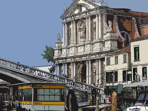 Wall Art - Photograph - Venice Water Bus by Mindy Newman