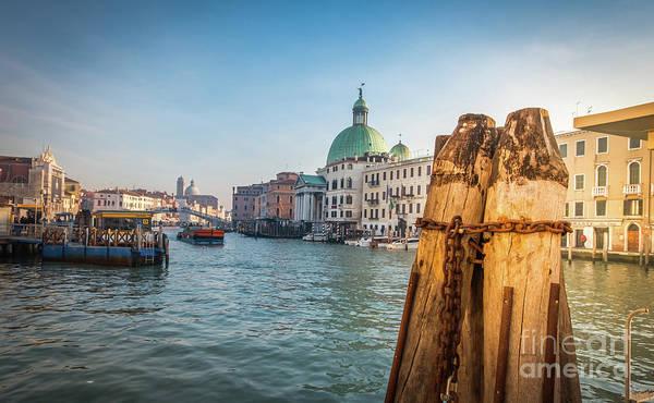 Photograph - Venice Wharf by Marina Usmanskaya