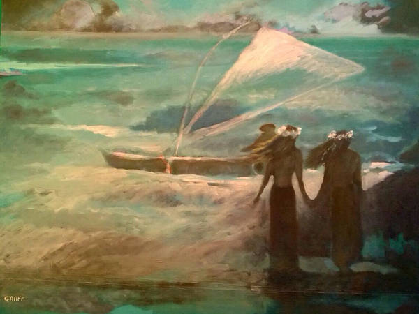 Painting - Vento Alle Hawaii by Enrico Garff
