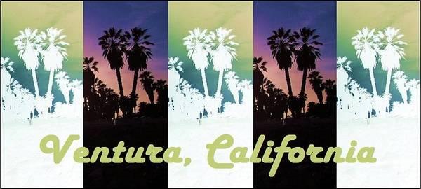 Groovy Mixed Media - Ventura, California by Mary Ellen Frazee