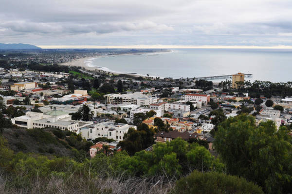 Art Print featuring the photograph Ventura Coast Skyline by Kyle Hanson
