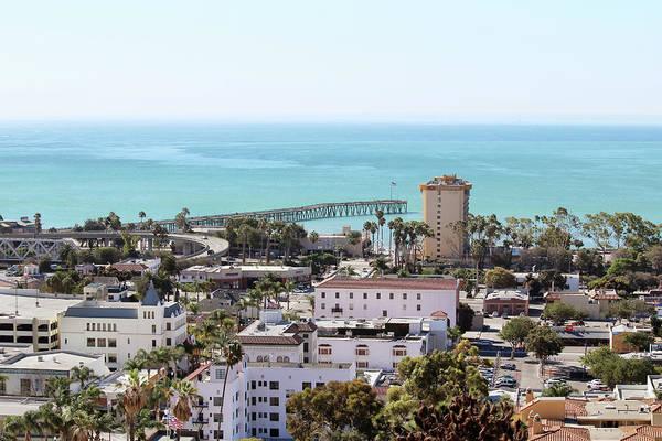 Ventura Photograph - Ventura Coastal View by Art Block Collections