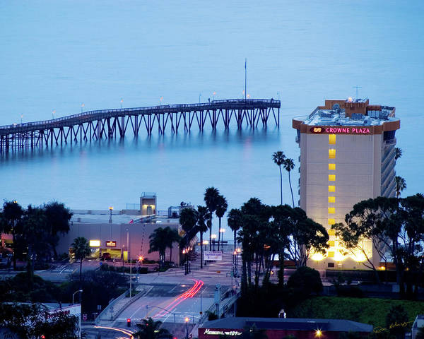 City Scape Photograph - Ventura Evening by Dan Holmes
