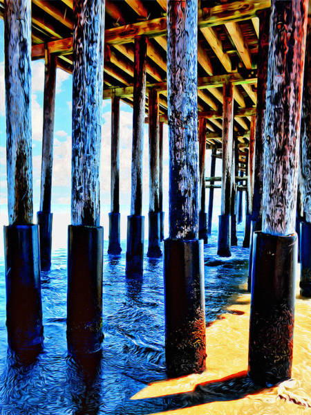 Photograph - Ventura Pier - California Coast by Glenn McCarthy Art and Photography