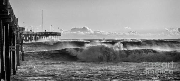 Ventura Pier El Nino 2016 Art Print