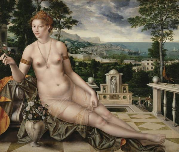 Fertility Painting - Venus Cythereia by Jan Massys
