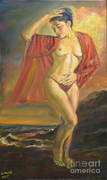Painting - Venus From The Sea by Raija Merila