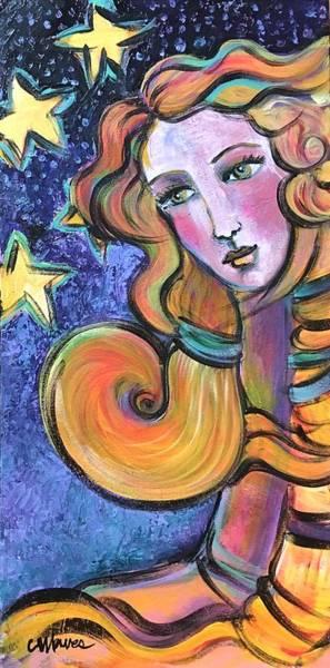 Painting - Venus Of Sarasota  by Laurie Maves ART