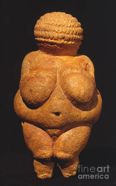 Photograph - Venus Of Willendorf by Granger