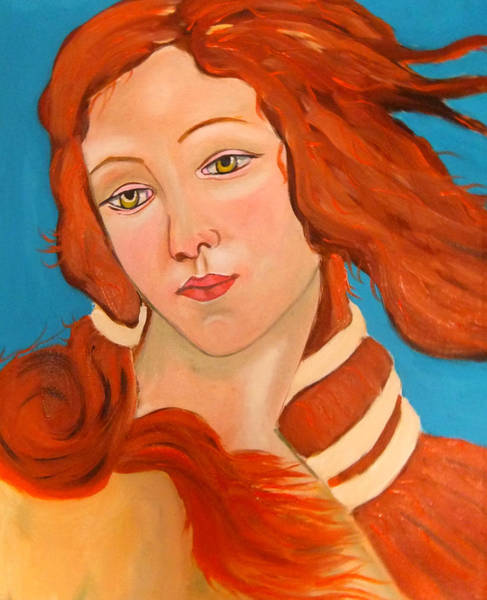 Painting - Venus Revisited by Rusty Gladdish
