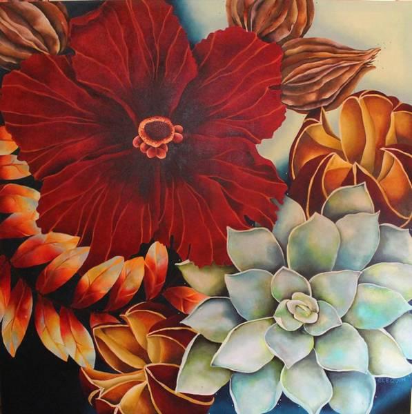 Wall Art - Painting - Vera by Elizabeth Elequin