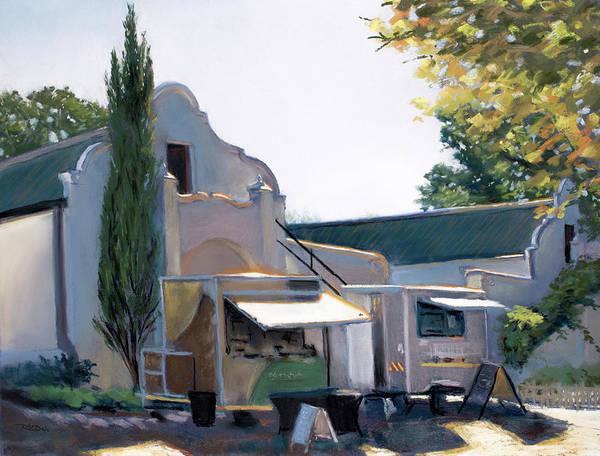 Painting - Vergenoegd Wine Estate by Christopher Reid