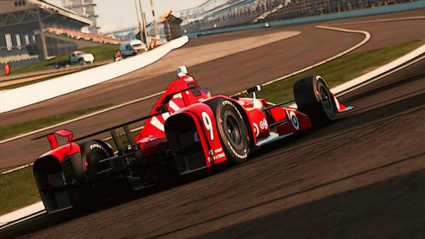 Painting - Verizon Indycar Series - 3 by Andrea Mazzocchetti