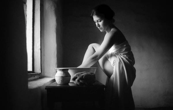 Photograph - Vermeer Footwasher by Jennifer Wright