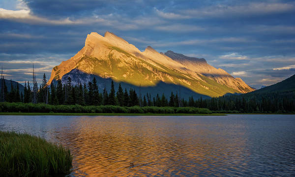 Photograph - Vermillion Lakes And Mt Rundle by Joan Carroll