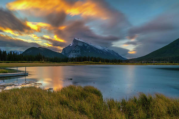 Photograph - Vermillion Lakes Sunrise by James Udall