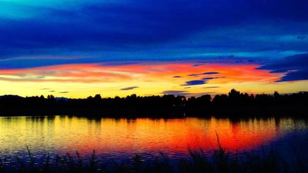 Photograph - Vermillion Sunset by Eric Dee