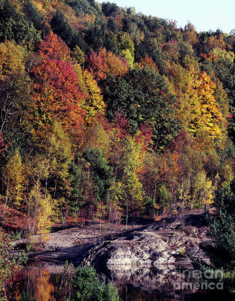 Photograph - Vermont Autumn, C2000 by Granger