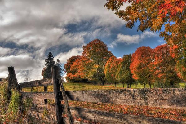 Photograph - Vermont Autumn Scene by Joann Vitali