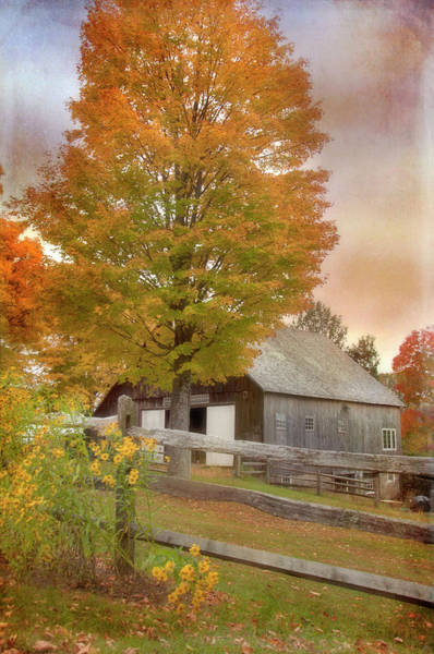 Photograph - Vermont Autumn - Woodstock Vt by Joann Vitali