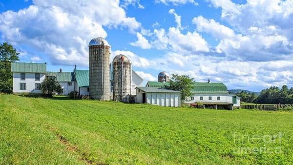 Family Farm Wall Art - Photograph - Vermont Farm by Edward Fielding