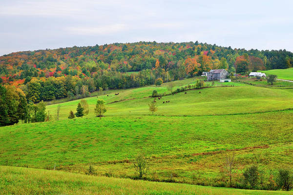 Wall Art - Photograph - Vermont Farmland by Luke Moore