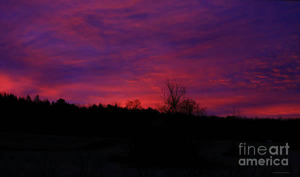 Photograph - Vermont Morning Sunrise by Deborah Benoit