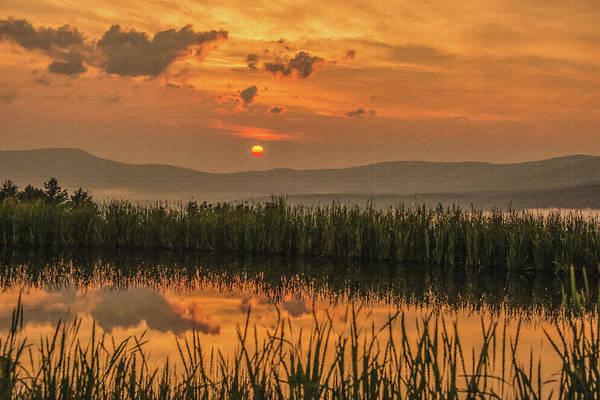 Photograph - Vermont Mountain Sunrise by Robert Mitchell