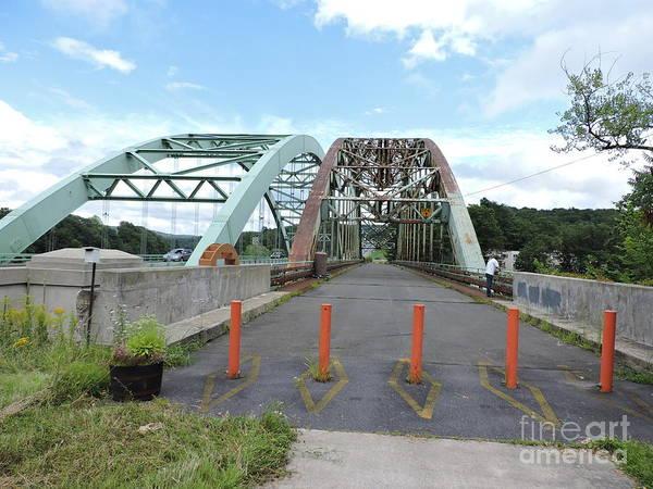 Wall Art - Photograph - Vermont, New Hampshire Bridge by Michael Wayne Gulliver