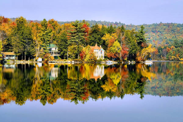 Vermont Reflections Art Print
