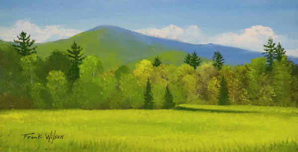 Wall Art - Painting - Vermont Spring by Frank Wilson