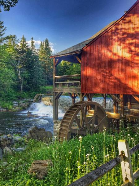 Photograph - Vermont Waterfall by Pat Moore